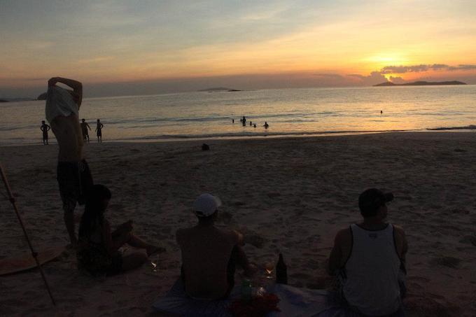 Calaguas Island Sunset