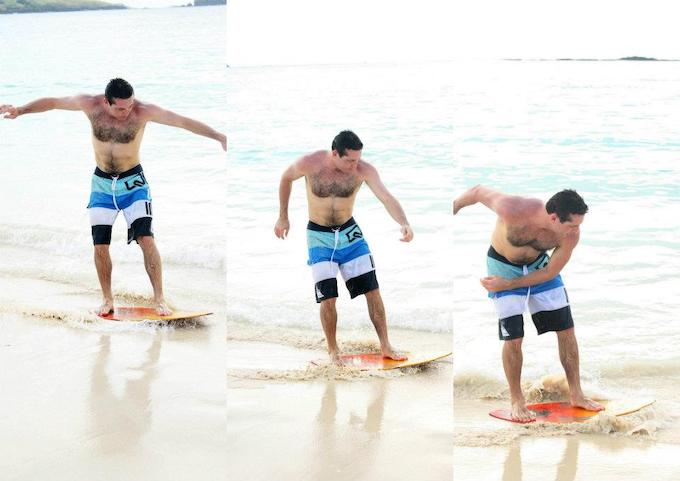 Sandboarding Activity